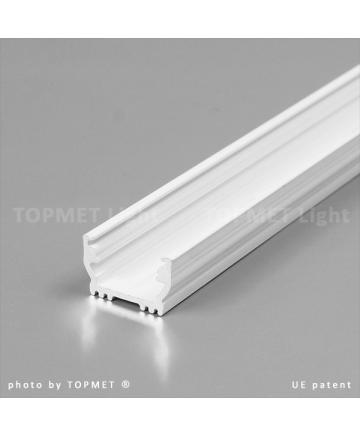 Προφιλ Αλουμινιου LED UNI12 Ασπρο