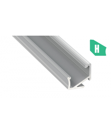 Προφίλ αλουμινίου LED EL CORNER H Silver