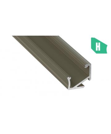 Προφίλ αλουμινίου LED EL CORNER H INOX