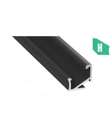 Προφίλ αλουμινίου LED EL CORNER H Μαύρο