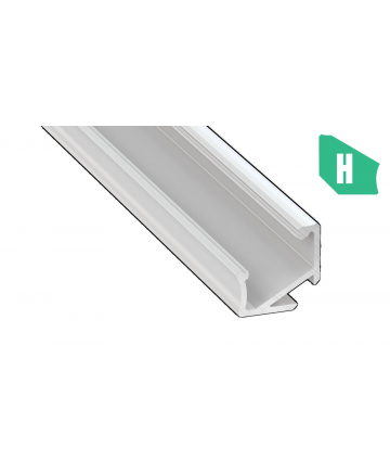 Προφίλ αλουμινίου LED EL CORNER H Λευκό