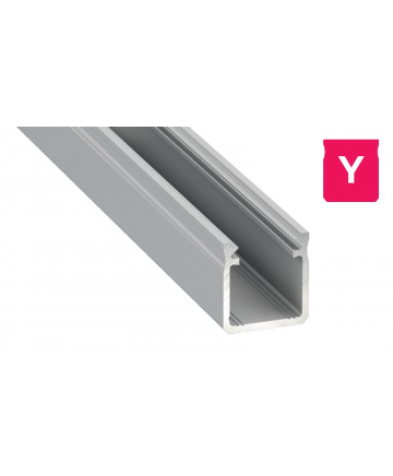 Προφίλ αλουμινίου LED EL DEEP Y Silver