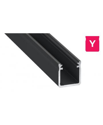 Προφίλ αλουμινίου LED EL DEEP Y Μαύρο