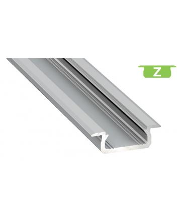 Προφίλ αλουμινίου LED EL MORTICE SLIM Z Silver