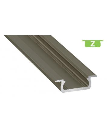 Προφίλ αλουμινίου LED EL MORTICE SLIM Z INOX