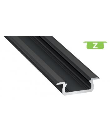 Προφίλ αλουμινίου LED EL MORTICE SLIM Z Μαύρο