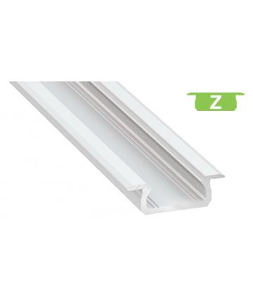 Προφίλ αλουμινίου LED EL MORTICE SLIM Z Λευκό