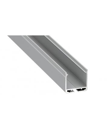 Προφίλ αλουμινίου LED EL DILEDA Silver