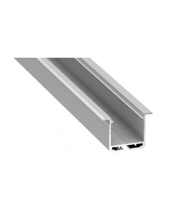 Προφίλ αλουμινίου LED EL inDILEDA Silver