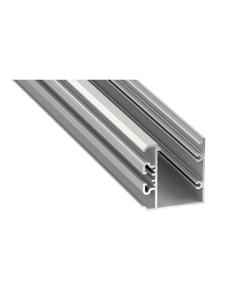 Προφίλ αλουμινίου LED EL UNICO Silver