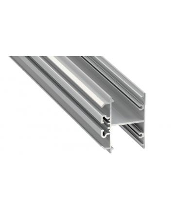 Προφίλ αλουμινίου LED EL DOPIO Silver