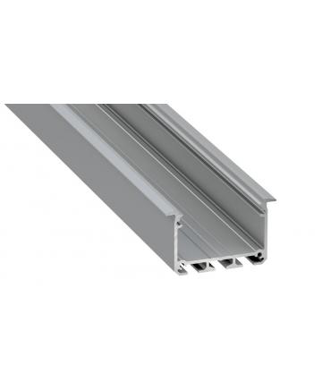 Προφίλ αλουμινίου LED EL INSO Silver