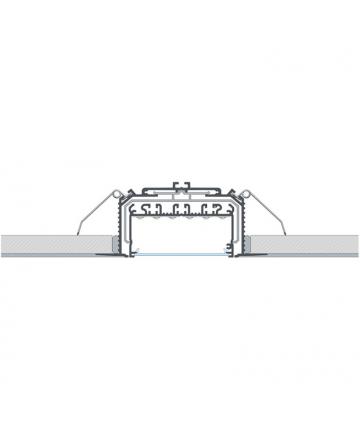 Προφίλ αλουμινίου LED EL LARGO Silver