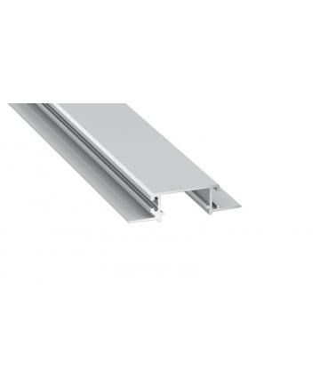 Προφίλ αλουμινίου LED EL ZATI TRIMLESS Silver