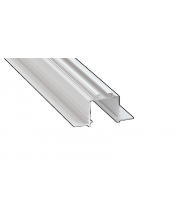 Προφίλ αλουμινίου LED EL SUBLI TRIMLESS Silver