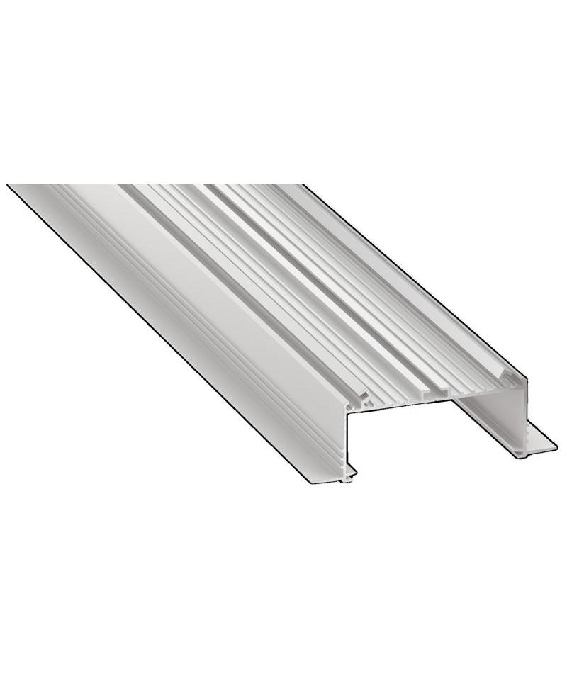Προφίλ αλουμινίου LED EL SORGA TRIMLESS Silver