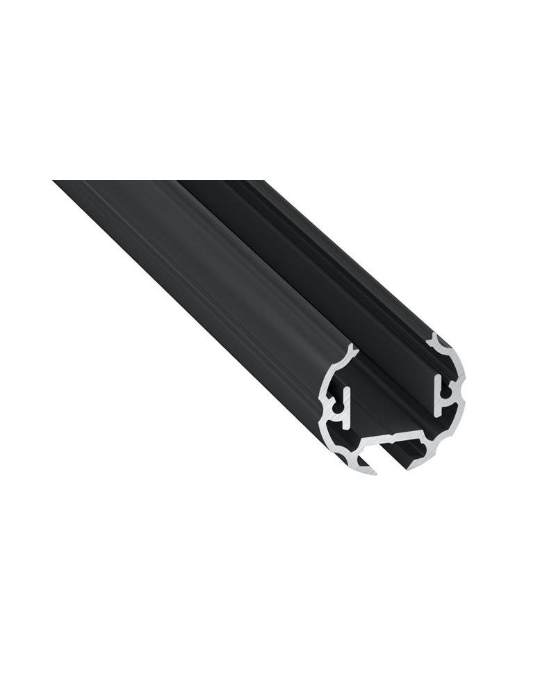 Προφίλ αλουμινίου LED EL COSMO Μαύρο