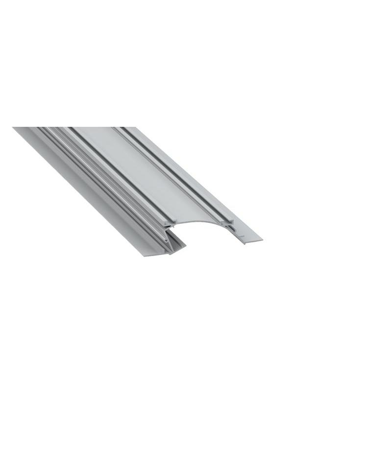 Προφίλ αλουμινίου LED EL PERO Silver