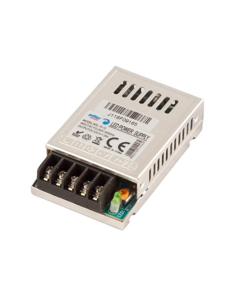 Τροφοδοτικό LED IP20 15W ADL-15-12