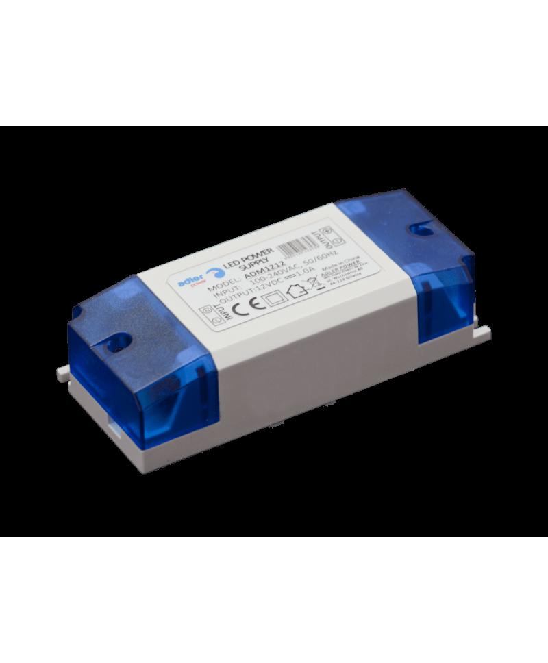 Τροφοδοτικό LED 12V 12W ADM1212