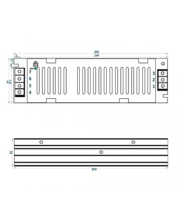 Τροφοδοτικό LED IP20 150W ADLS-150-12