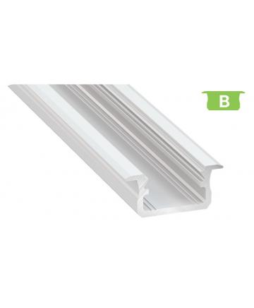 Προφίλ αλουμινίου LED EL MORTICE B Λευκό