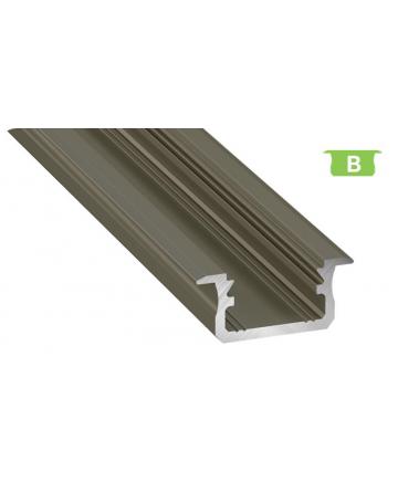 Προφίλ αλουμινίου LED EL MORTICE B INOX