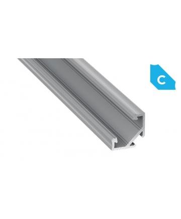 Προφίλ αλουμινίου LED EL CORNER C Silver