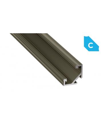Προφίλ αλουμινίου LED EL CORNER C INOX