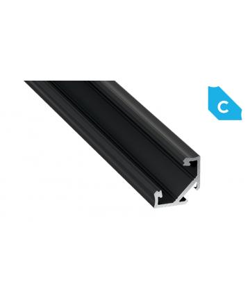 Προφίλ αλουμινίου LED EL CORNER C Μαύρο
