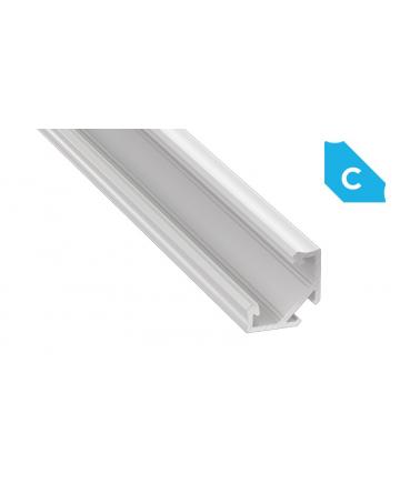 Προφίλ αλουμινίου LED EL CORNER C Λευκό