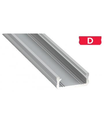 Προφίλ αλουμινίου LED EL MICRO D Silver