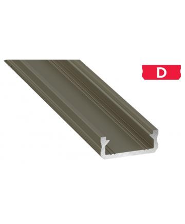 Προφίλ αλουμινίου LED EL MICRO D INOX