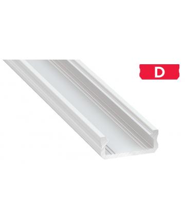 Προφίλ αλουμινίου LED EL MICRO D Λευκό
