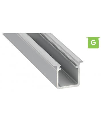 Προφίλ αλουμινίου LED EL DEEP G Silver
