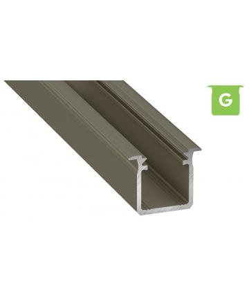 Προφίλ αλουμινίου LED EL DEEP G INOX