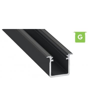 Προφίλ αλουμινίου LED EL DEEP G Μαύρο