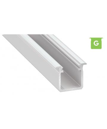 Προφίλ αλουμινίου LED EL DEEP G Λευκό