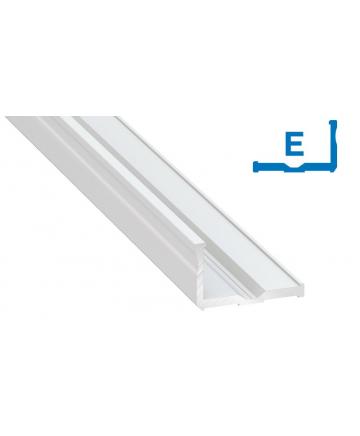 Προφίλ αλουμινίου LED TYPE E Λευκό
