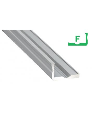 Προφίλ αλουμινίου LED TYPE F Silver