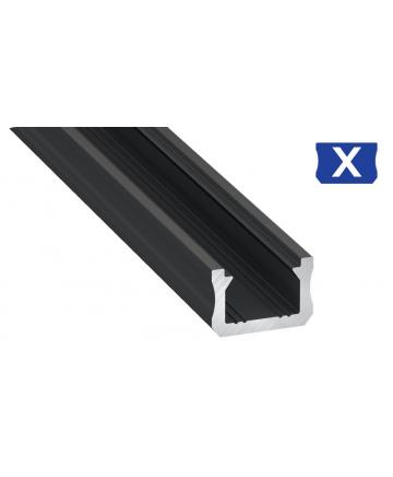 Προφίλ αλουμινίου LED EL SLIM X Μαύρο